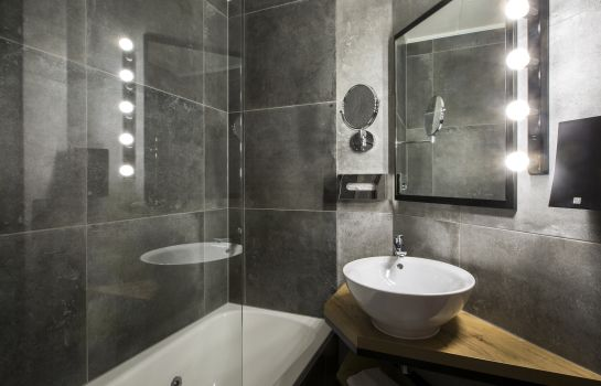 Bagno in camera City Hotel Groningen