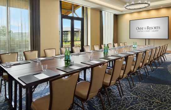 Sala de reuniones Omni Barton Creek Resort & Spa