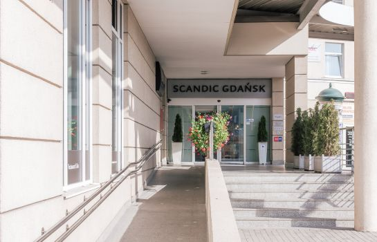 Exterior view Scandic Gdansk