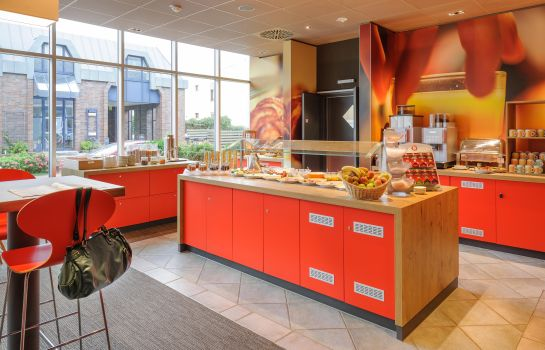 Breakfast buffet ibis Luebeck City