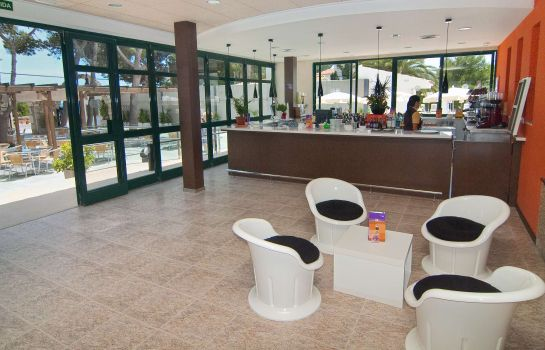 Bar del hotel Hotel Servigroup Romana