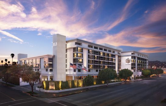 Vue extérieure SLS Hotel a Luxury Collection Hotel Beverly Hills
