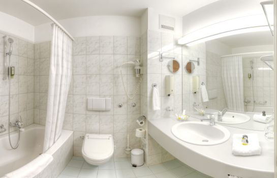 Badezimmer Sorell Hotel Speer