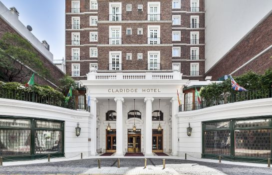 Exterior view Claridge Hotel