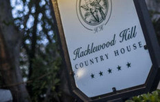 Info Hacklewood Hill Country House
