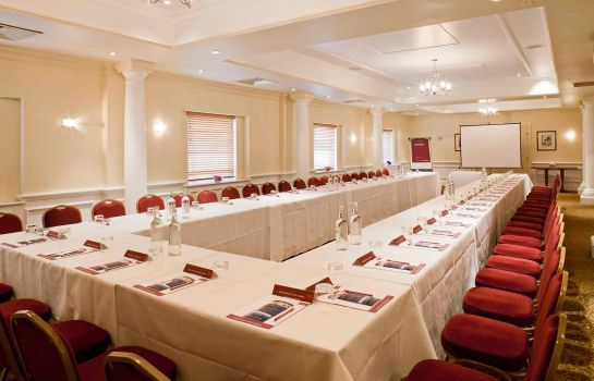 Conference room Mercure Winchester Wessex Hotel