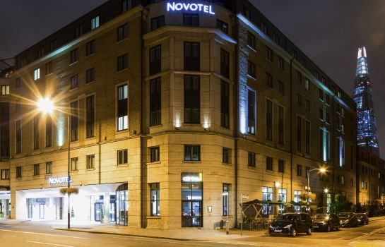 Buitenaanzicht Novotel London Bridge