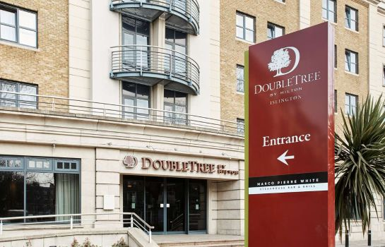 Buitenaanzicht DoubleTree by Hilton London - Islington