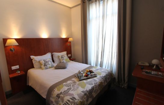 Chambre double (standard) Best Western Hotel Centre Reims