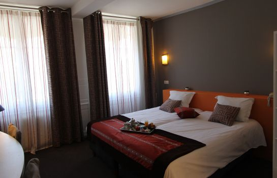 Chambre double (confort) Best Western Hotel Centre Reims