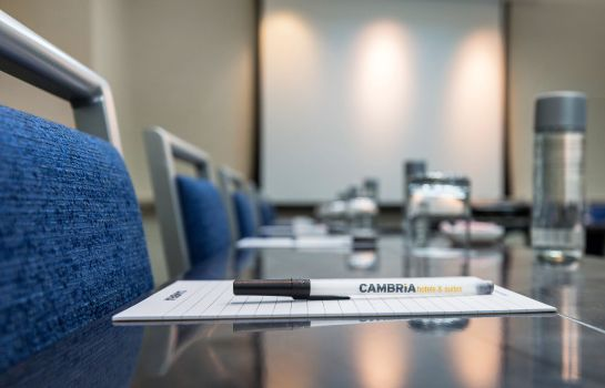 Conference room Cambria hotel & suites Chicago Magnificent Mile