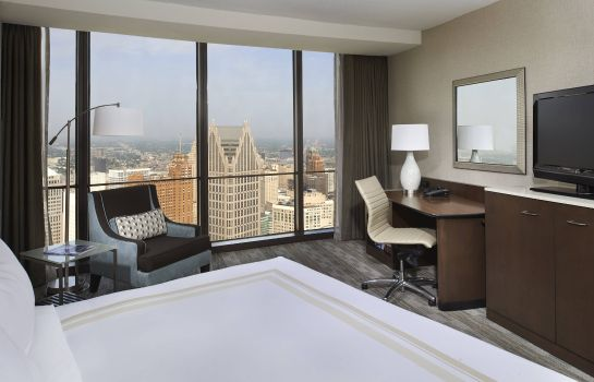 Room Detroit Marriott at the Renaissance Center