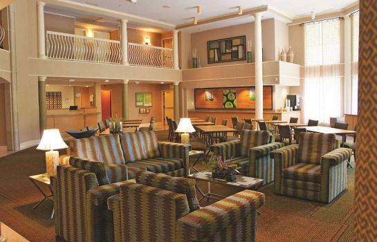 Lobby La Quinta Inn Ste Bush IAH South