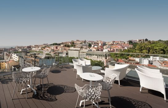 Terrasse NH Collection Lisboa Liberdade