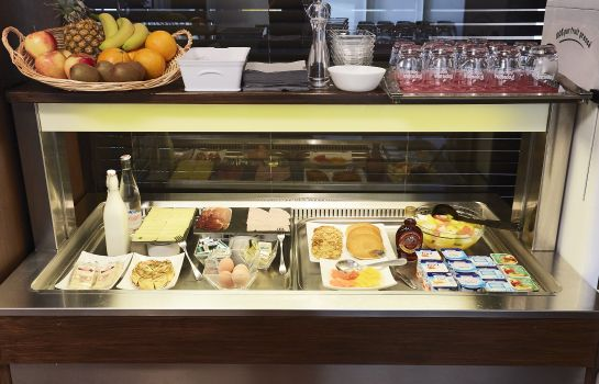Ontbijtbuffet Kyriad Grenoble Centre
