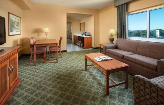 Zimmer Embassy Suites North Charleston - Airport-Hotel - Convention