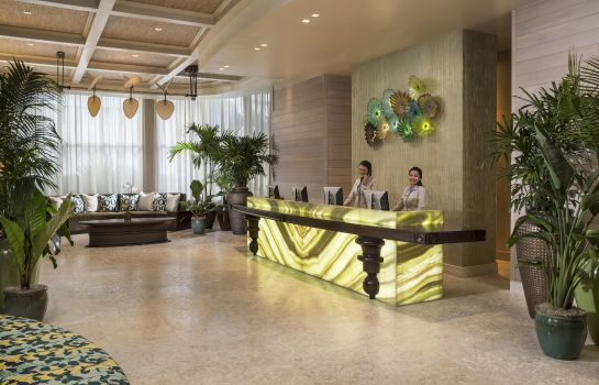 Hol hotelowy The Palms Hotel and Spa Preferred Hotels and Resorts