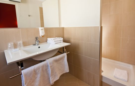 Bagno in camera Le Clocher de Rodez