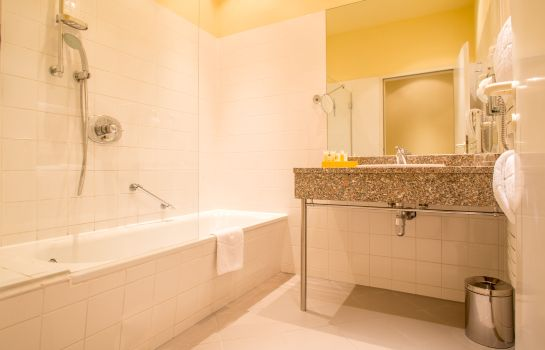 Bagno in camera Starlight Suiten Hotel Wien Renngasse