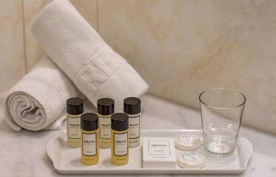 Bagno in camera Kresten Palace Hotel & Wellness