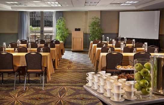 Conference room DoubleTree Suites by Hilton Austin