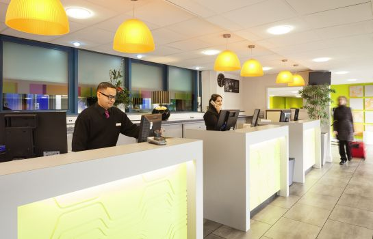 Reception ibis Styles London Excel