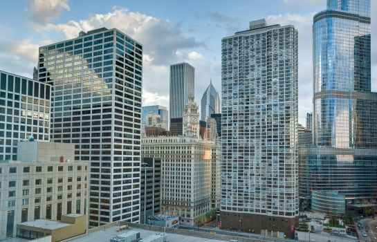 Vista esterna Homewood Suites by Hilton Chicago Downtown