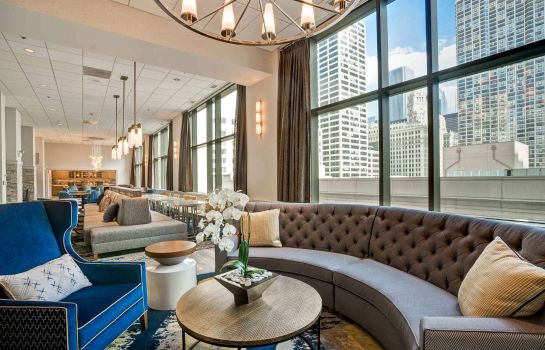 Hall de l'hôtel Homewood Suites by Hilton Chicago Downtown