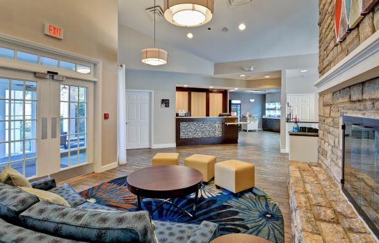 Hotelhalle Homewood Suites Columbus-Worthington