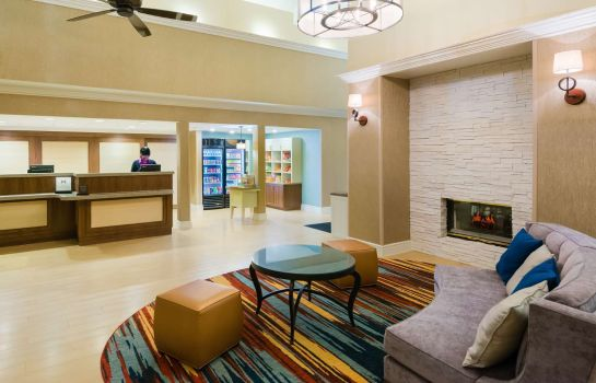 Vestíbulo del hotel Homewood Suites by Hilton Houston-Clear Lake