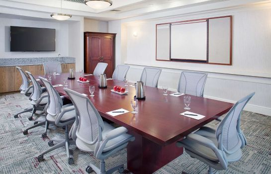 Conference room Hilton Atlanta Perimeter Suites
