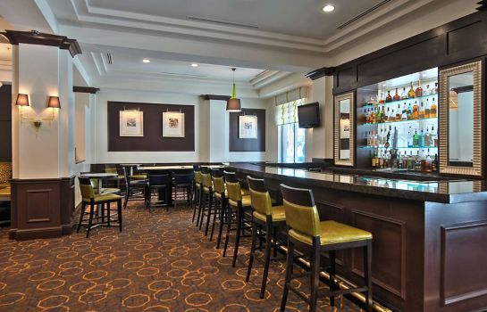 Bar del hotel Hilton Garden Inn Washington DC Downtown