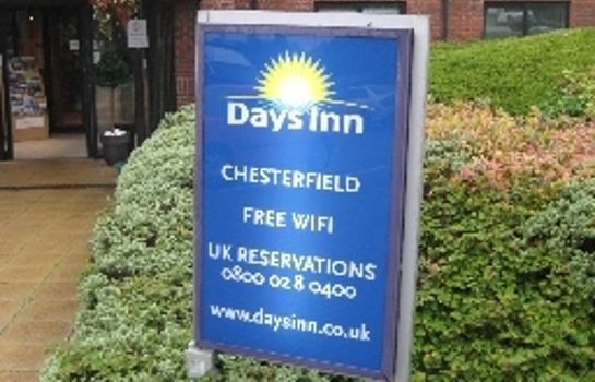 Exterior view Days Inn Chesterfield Tibshelf