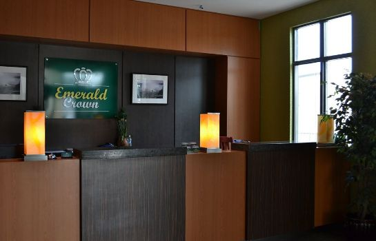 Recepcja Emerald Crown Hotel