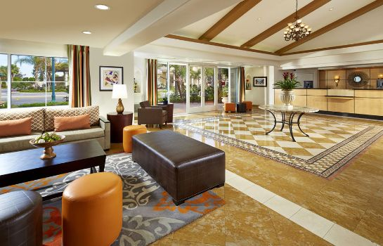 Hall de l'hôtel Anaheim Portofino Inn and Suites