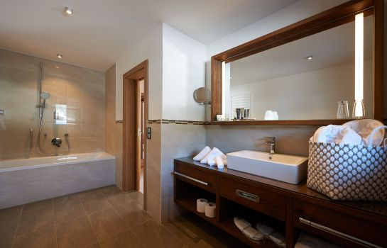 Bagno in camera Boutique Hotel Herzhof