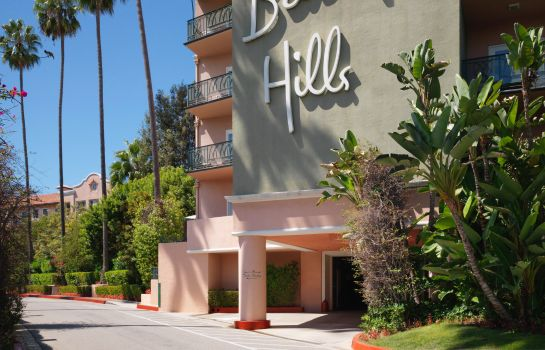 Exterior view Beverly Hills Hotel
