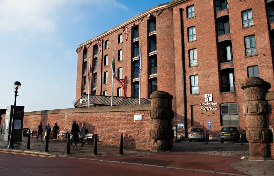 Außenansicht Holiday Inn Express LIVERPOOL - ROYAL ALBERT DOCK