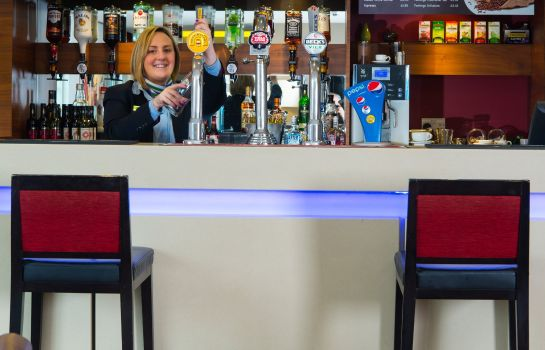 Hotel bar Holiday Inn Express MANCHESTER - SALFORD QUAYS