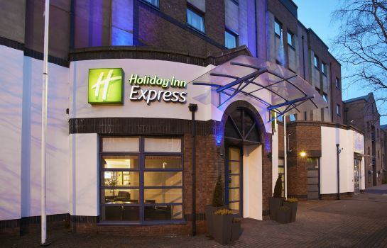 Vista exterior Holiday Inn Express BELFAST CITY - QUEEN'S QUARTER