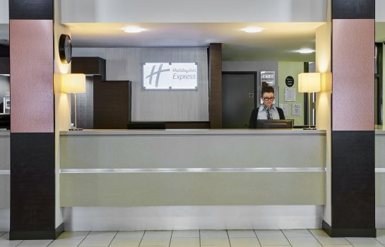 Vestíbulo del hotel Holiday Inn Express BELFAST CITY - QUEEN'S QUARTER