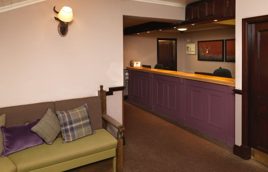 Réception Best Western Pennine Manor Hotel