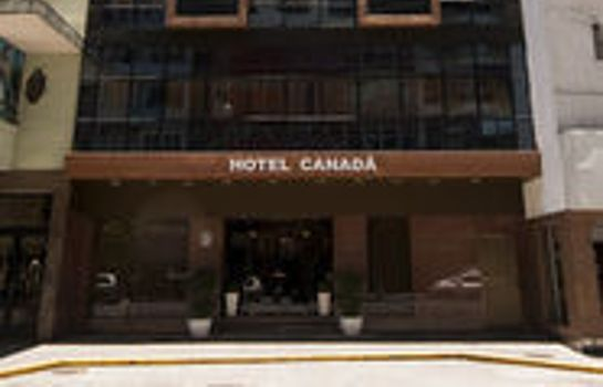 Exterior view Hotel Canadá