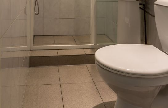 Bagno in camera Hotel Pension Randenbroek
