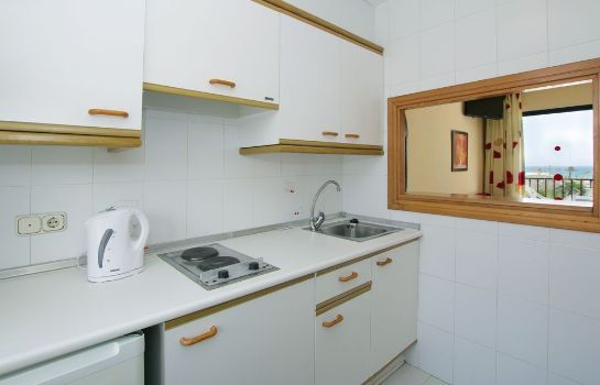 Kitchen in room Hotel Puente Real