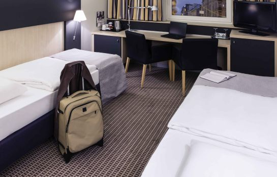 Camera standard Mercure Hotel Berlin City