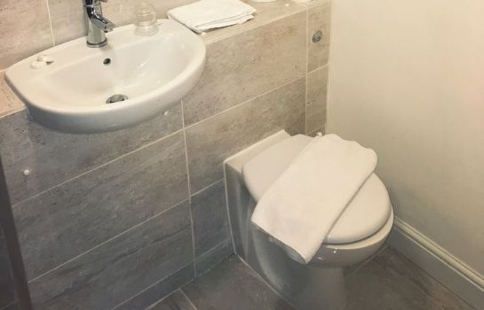 Bagno in camera Palace Court Hotel