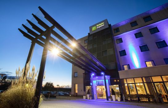 Buitenaanzicht Holiday Inn Express FRANKFURT AIRPORT