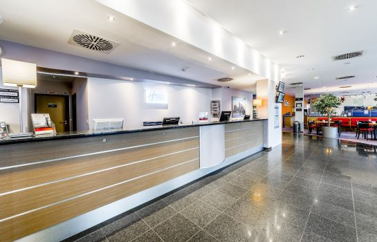 Hotelhalle Holiday Inn Express FRANKFURT AIRPORT