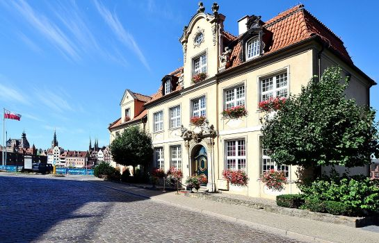 Exterior view Podewils Old Town Gdansk